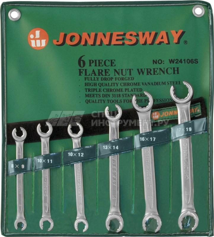 набор ключей гаечных разрезных в сумке 8 19 мм 6 предметов